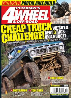 It's time for the #October issue of 2013! Check out what's inside! - #Download the #iTunes app at https://itunes.apple.com/us/app/4-wheel-off-road/id497868114?mt=8 or in our App Store here: http://www.simappstore.com/