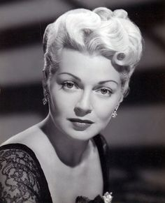 Lana Turner (loved her in Imitation of Life)