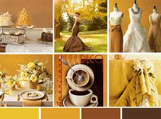 Art Deco style of Dresser Mansion, vintage charm and elegance using a color palette of browns, warm golds and soft cream.