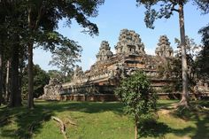 Ta Keo in Angkor in Siem Reap Cambodia Date: Beginning of the 11th century, Reign: Jayavarman V, Suryavarman I, Religion: Hindu (Shiva)  Read more: http://www.globaltravelmate.com/asia/cambodia/angkor/angkor-temples/545-siem-reap-ta-keo.html#ixzz2XaytRZbK