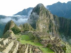 Machu Picchu, the magical Inca city.