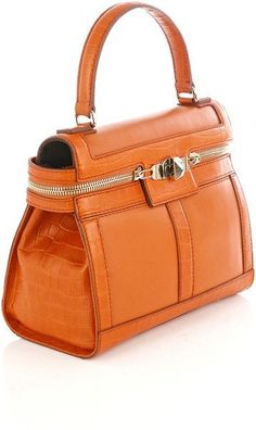 e391a2ec304 bag #orangedrawstringbag Portemonnees En Handtassen, Lederen Handtassen,  Oranje Tas, Schoenen, Handtassen