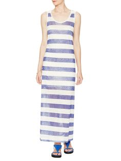 Linen Striped Tank Dress from Ahoy Spring: Nautical Style on Gilt
