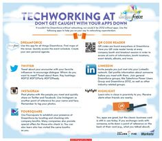 Techworking Dreamforce1 Infographic - http://infographicality.com/techworking-dreamforce1-infographic/