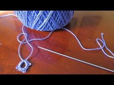 ▶ Needle Tatting for Beginners - YouTube