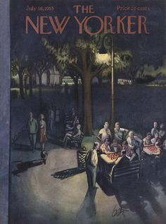 The New Yorker - Saturday, July 18, 1953 - Issue # 1483 - Vol. 29 - N° 22 - Cover by : Arthur Getz