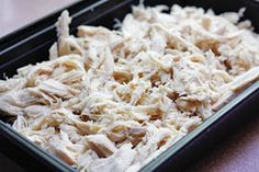 Skinny Bits: How To Make Shredded Chicken In Your Crock Pot