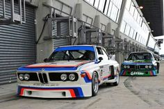 life-and-everything: Peas in a pod BMW CSLs at the Le Mans Classic Sports Car Racing, Sport Cars, Race Cars, Bmw E9, Bmw Motors, Automobile, Bmw Alpina, Bmw Classic Cars, Old School Cars