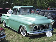 1955 chevy truck | 1955 chevy pickup presentation