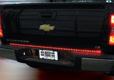 Chevy Silverado Accessory - LED Tailgate Light Bar
