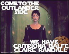 Come to the Outlander Side…we have Caitriona Balfe as Claire Randall! http://italianoutlanders.tumblr.com