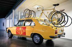 Classic Mavic Peugeot 504 neutral service vehicle... - Rollers Instinct