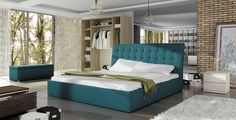 Upholstered beds buy online, Bed TERASSO Best price & Shipping by 4 mēbeles - furniture store. Tufted Bed Frame, Mattress Frame, Upholstered Beds, European Furniture, Modern Furniture, Modern Bedroom, Bedroom Decor, Classic Sofa, Bigbang