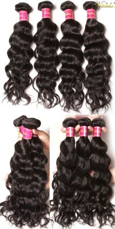 Affordable Peruvian Natural Wave Hair 4pcs Deal, #Nadula Hair Mall Free Shipping Human Hair Extensions. Got This On #Valentine's Day Big Sell! #valentinesdaygiftideas #naturalhair #black
