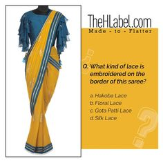 Can you answer this? Floral Lace, Cool Designs, Ethnic, Saree, How To Wear, Stuff To Buy, Women, Fashion, Moda
