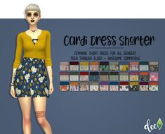 Cardi Dress Shorter   Deetron Sims