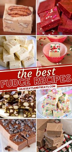 Looking for a perfect holiday dessert? Check out The Best Fudge Recipes that are so easy and so delicious! No one can resist a cute platter of these treats. Make them ahead so you can have something impressive to bring at last-minute Christmas parties! Save this pin! Christmas Desserts Easy, Easy Holiday Recipes, Christmas Parties, Christmas Recipes, Best Fudge Recipe, Fudge Recipes, Yummy Recipes, Dessert Recipes, Yummy Food