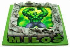tortas decoradas con el increible hulk - Buscar con Google
