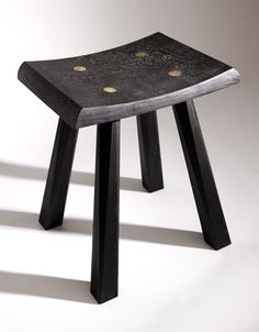 Sam Chinnery, Scorched Wood Stool.