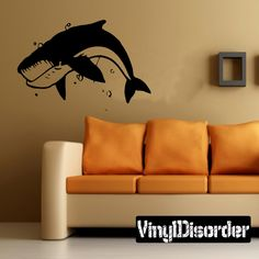 Fish Wall Decal - Vinyl Decal - Car Decal - DC557