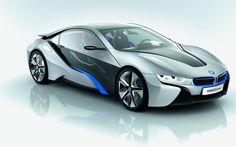 Una Belleza en 4 ruedas, lo mejor es que es eléctrico.  BMW-i8-Concept-car
