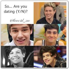 one direction imagines your dating a celebrity The quiz: who's your one direction love match you can't get the band's catchy lyrics — or boys — out of your head find out which one direction is perfect for you.