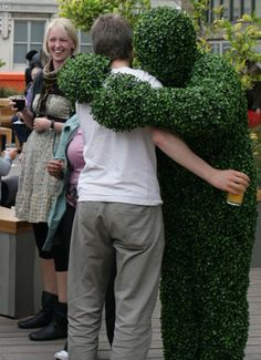 The Living Topiary, plant these characters at your event and watch them grow…….. The Living Topiary – Human Trees – they now also have the Flower People. If you go down to the woods today you're in for a big surprise… When you go down to the woods today the topiary comes alive! Introducing The …