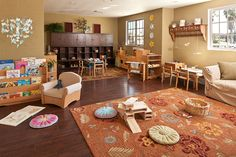 Parents & Teacher Classroom at Branches Atelier in Santa Monica, CA (formerly Blueberry Atelier)