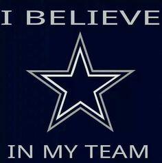 I believe in my team!
