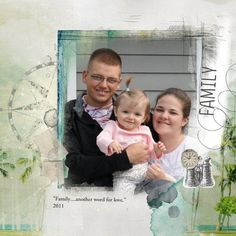 My son in law and his lil family