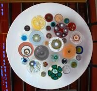 The art of Klari Reis was inspired by her diagnosis with Crohn's disease. The pieces reflect her awe at seeing her blood cells' reaction to various pharmaceuticals. (Bob Kelley, Special to The Denver Post)