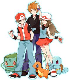Red, Blue, & Green pokespe