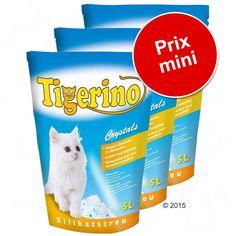 Animalerie  Lot économique litière Tigerino  Tigerino Nuggies gros grains  senteur talc (2 x 14 L)