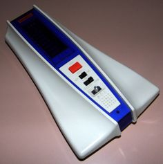 Vintage UFO Master-Blaster Station Electronic Handheld Game By Bambino, Model No. ET-0201, VFD, Made In Japan, Circa 1979