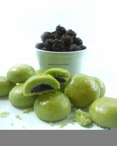 Nastar Green Tea Isi Coklat by Mbaiyya