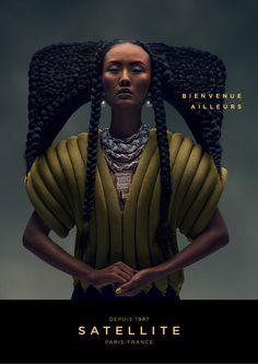 """""""Bienvenue Ailleurs"""", par Young & Rubicam pour Satellite. 2014. 3."""
