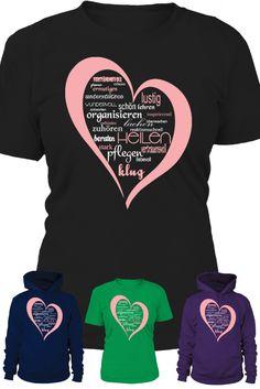 Attribute und Tätigkeiten einer Krankenpflegerin. Limited Edition. Hier erhältlich: https://www.teezily.com/nurseheartl                                           Oder im Pflegeshop: https://www.teezily.com/stores/pflegeshop ⬅ ♥ ⬅ ♥ ⬅
