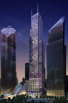 NEW YORK | 3WTC (175 Greenwich Street) | 357m | 1170ft | 80 fl