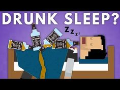 What Happens When You Go To Sleep Drunk? - YouTube Trying To Sleep, Go To Sleep, Sleep Center, Sleep Medicine, Drunk Driving, Mental Health Disorders, Fascinating Facts, National Institutes Of Health