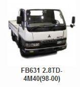Mitsubishi > Mitsubishi Canter/Fuso Truck Parts > FB631 2.8TD-4M40(98-00)