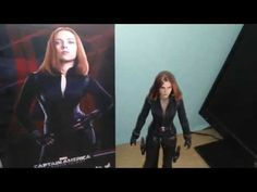 Review Hot Toys BLACK WIDOW Captain America2 (English version)