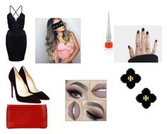 """""""Sans titre #400"""" by abye980 on Polyvore featuring mode, Christian Louboutin et Tory Burch"""