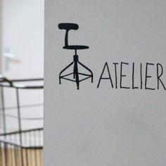 Sticker Atelier (Bord de Scène) - Le Repère des Belettes