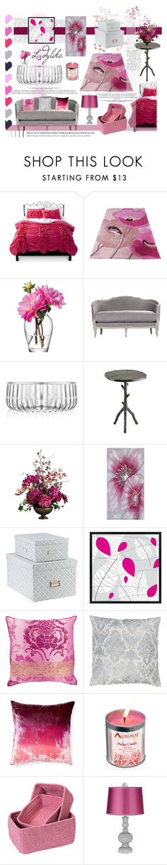 """""""Ladylike in Pink & Grey - Top Home Set for Feb 13th, 2015"""" by celeste-menezes ❤ liked on Polyvore featuring interior, interiors, interior design, home, home decor, interior decorating, Xhilaration, LSA International, Kartell and Currey & Company"""