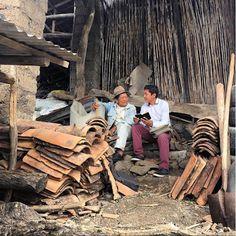 En el ministerio en Ecuador.