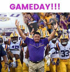 Love Coach O Football Rooms, Lsu Tigers Football, Sec Football, Football Cheerleaders, Saints Football, Football Girls, Alabama Football, College Football, Cheerleading
