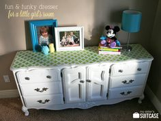 My Sister's Suitcase: Blogiversary Week: Little Girl's Dresser Makeover