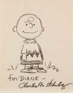 Charlie Brown illustration for Diane