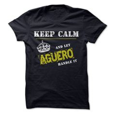 (Tshirt Best Gift) Let AGUERO Handle it Coupon 5% Hoodies, Funny Tee Shirts