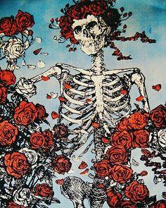 Listen to Grateful Dead Radio, free! Stream songs by Grateful Dead & similar artists plus get the latest info on Grateful Dead! Dessin Old School, Hawke Dragon Age, Lizzie Hearts, Inspiration Artistique, Skull And Bones, Grateful Dead, Skull Art, Dark Art, Oeuvre D'art